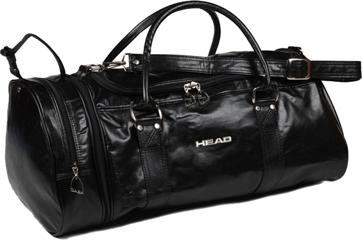 Head Bag Monte Carlo 901987 Gym Travel Casual Classic Holdall Bag Black 181 by HEAD