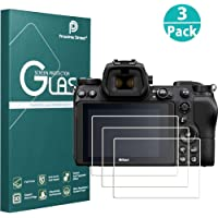 Proxima Direct Screen Protector Compatible Nikon Z6 Z7, 3-Pack Tempered Glass Screen Protector Protective Film Cover with HD Optical Glass for Nikon Z6 Z7 Camera, Ultra-Clear Anti-Bubble