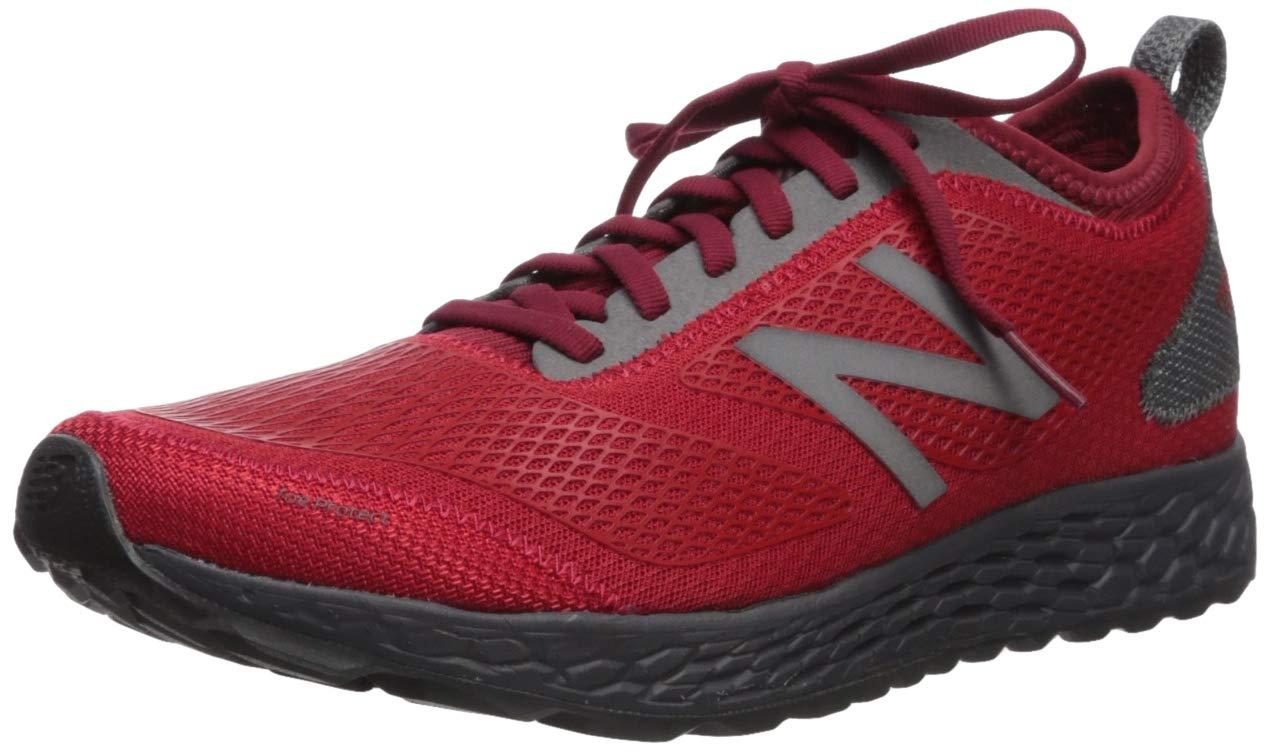 New Balance Men's Gobi V3 Fresh Foam Trail Running Shoe, Team red/Magnet, 11 D US