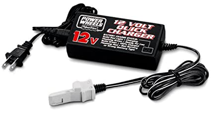 Power Wheels 12-Volt Quick Charger