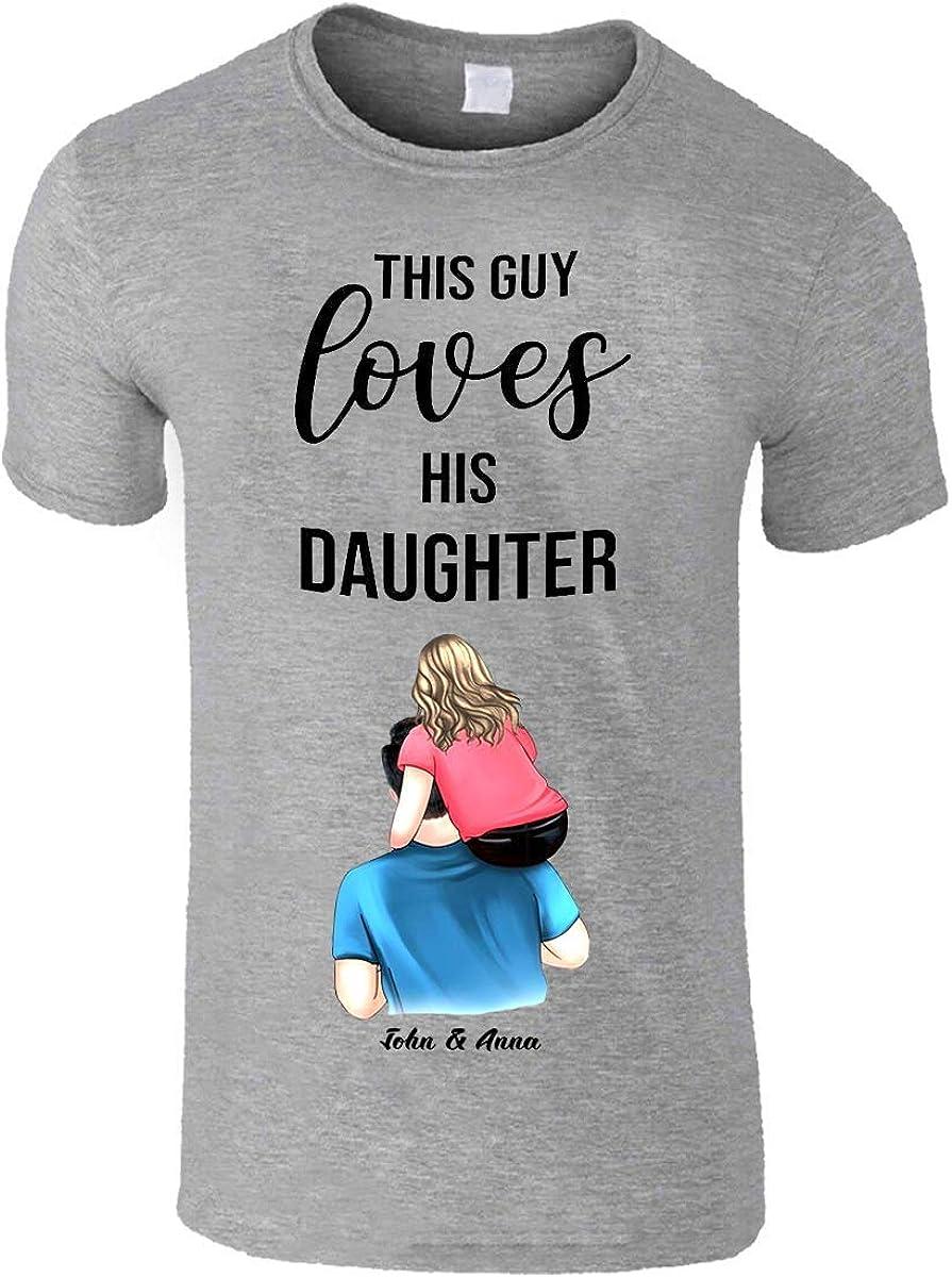 Camisetas personalizadas para el día del padre 2020 | Camisetas impresas para hombre | Regalo increíble para el día del padre | Regalo del día del padre | Mejor regalo del padre