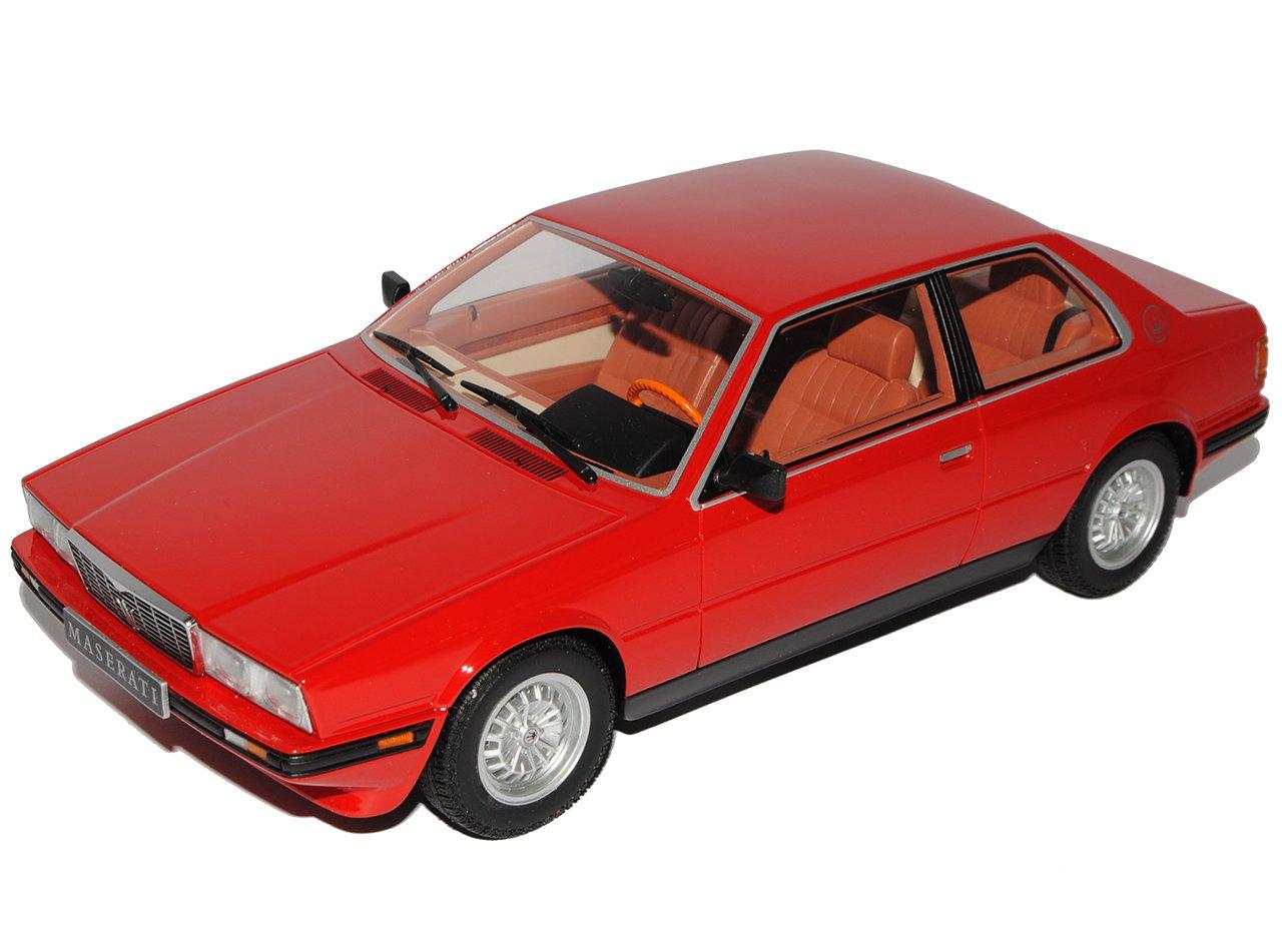 Minichamps Maserati Biturbo Coupe Rot 1981-1994 1/18 Modell Auto