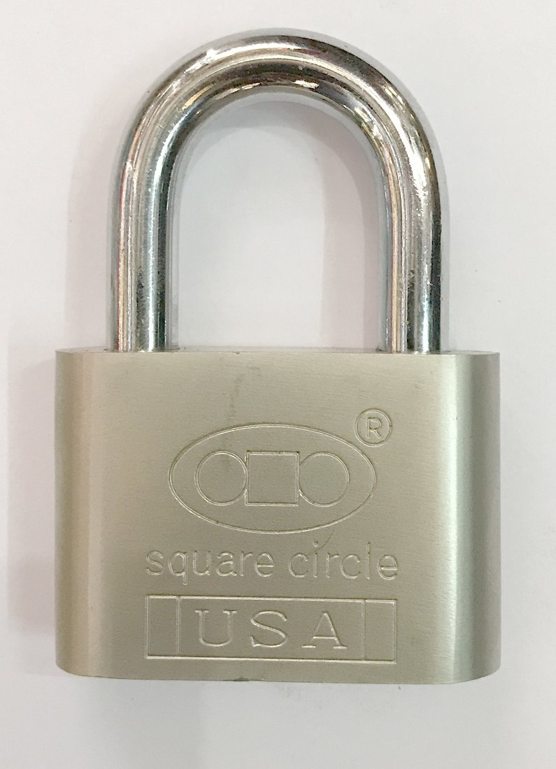 Tools Centre USA -60mm With 4 Key And 2 Brass Locks Free (3 digit) Full Stainless Steel Locks - Mandatory for US Customs (ONLY ORIGINAL BRANDED LOCK ONLINE ! by Tools Centre (Image #2)