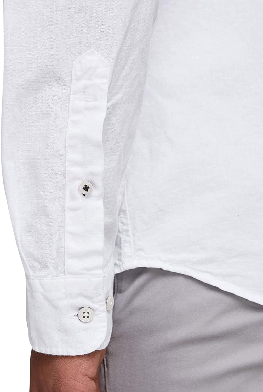 Jack /& Jones Mens Button Down Shirt