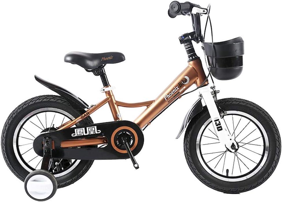 TSDS Bicicleta Infantil Bicicleta de montaña de 18 Pulgadas al ...
