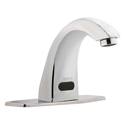 Hindware F240001CP Pillar Sensor Faucet (Sensor) with Chrome Finish
