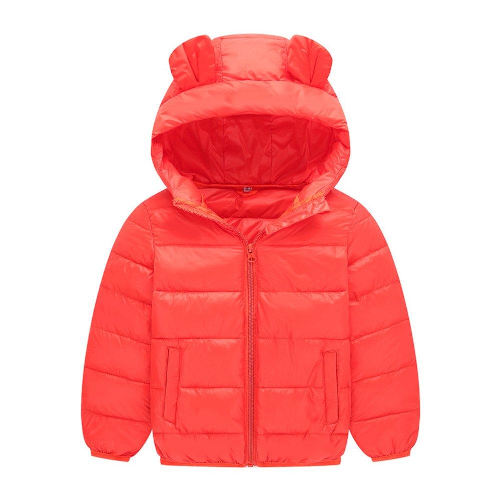 Meijunter Baby Girls Boy Snow Suits Hoodie Down Jacket Winter Coat for 1-8 Year