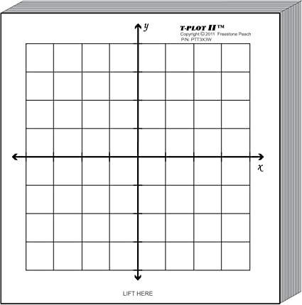 Amazon.com : Graph Paper Kit: Six coordinate grid designs printed ...