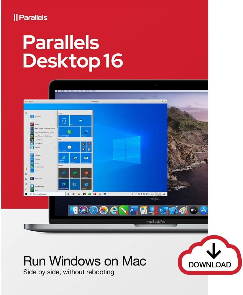 Parallels Desktop 16 for Mac | 1-Year Subscription [Mac Online Code]