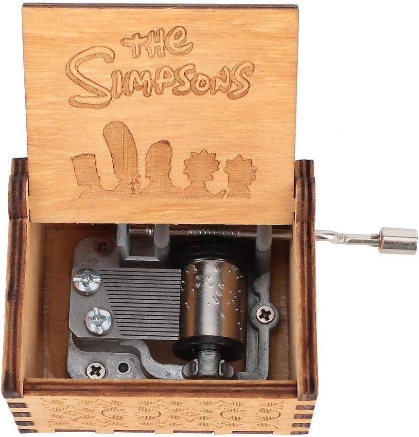 #1: You Are My Sunshine FTVOGUE Handkurbel Geschnitzte Sperrholz Spieluhr Holz graviert musikalische Spielzeug Handwerk Home Decor Geschenk f/ür Kinder Musikliebhaber