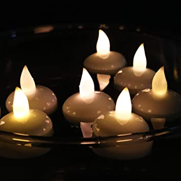 Kerzen Für Draußen.Rhytsing 12er Set Led Schwimmende Kerzen Kerzen Für Draußen