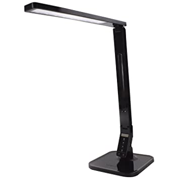 Lux led dimmable led desk table lamp touch sensitive control lux led dimmable led desk table lamp touch sensitive control 5 level aloadofball Images