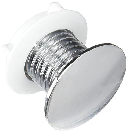 Roca AV0012600R - Kit Tapón Embellecedor Tanque Recambio - Colleción De Baño - Porcelana - Fijaciones