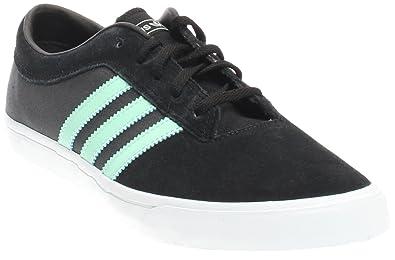 new concept 7ca7e cf3c0 adidas Skateboarding Mens Sellwood BlackIce GreenDark Grey Heather Solid  Grey Sneaker 8