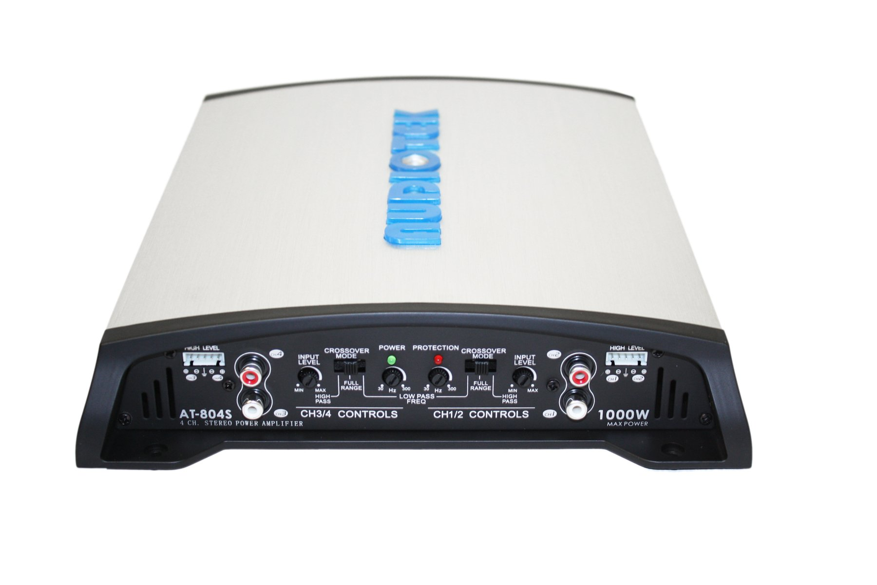 Audiotek At804S 4 Channels Class Ab 2 Ohm Stable 1000W Stereo Power Car Amplifier by Audiotek (Image #2)