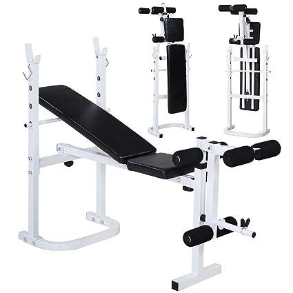 Amazon com : Cirocco Folding Weight Bench Press Incline Lift