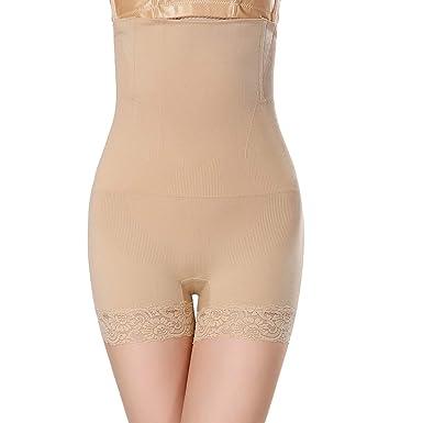 7e1180e5b7a Talk about heaven Women High Waist Body Shaper Panties Seamless Tummy Belly  Waist Slimming Shapewear Girdle Underwear at Amazon Women s Clothing store