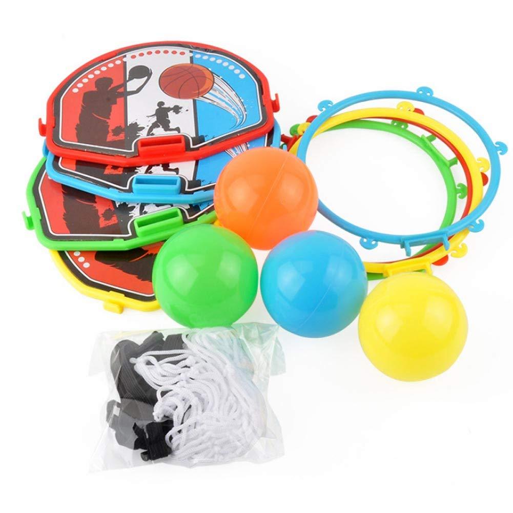 Majome 4 Unids Divertido Mini Balón de Baloncesto Tablero de Tiro ...