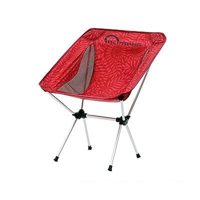 Chaise pliante ultra légère en plein air Chaise de plage Chaise de pêche légère en alliage d'aluminium Chaise de repos portative