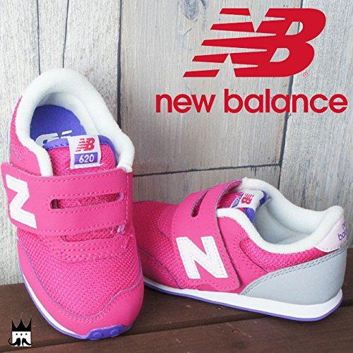 74ccd22203c17 Amazon | (ニューバランス)new balance K620 ファーストシューズ 女の子 ベビー 16.5cm PKI(PINK) | new  balance(ニューバランス) | ファーストシューズ