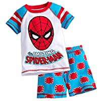 Marvel Spider-Man PJ PALS Pajamas Short Set for Boys