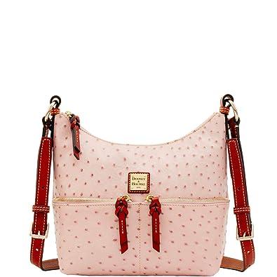 Image Unavailable. Image not available for. Color  Dooney   Bourke Ostrich  Small Pocket Zipper Crossbody Shoulder Bag 36ee08ef19