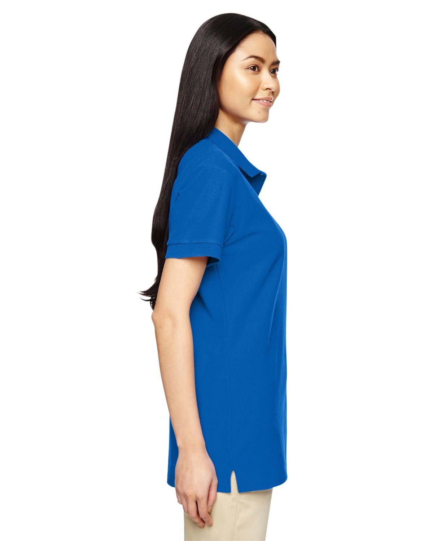 Gildan Premium Cotton Ladies' Double Piqué Polo Shirt, Royal, Medium