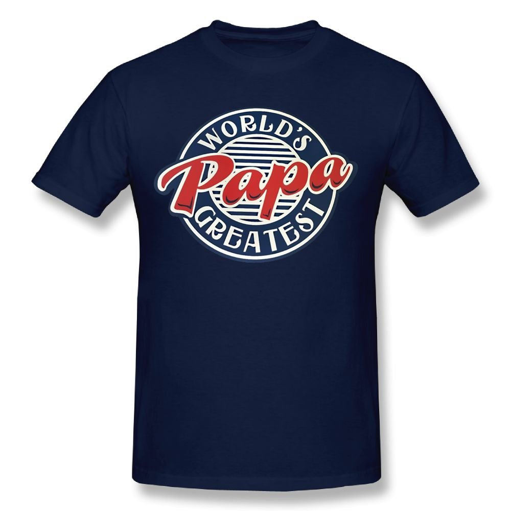 fresh tees Brand- World's Greatest Papa T-Shirt Father's Day Shirt Gifts for Grandpa Father Day Gift