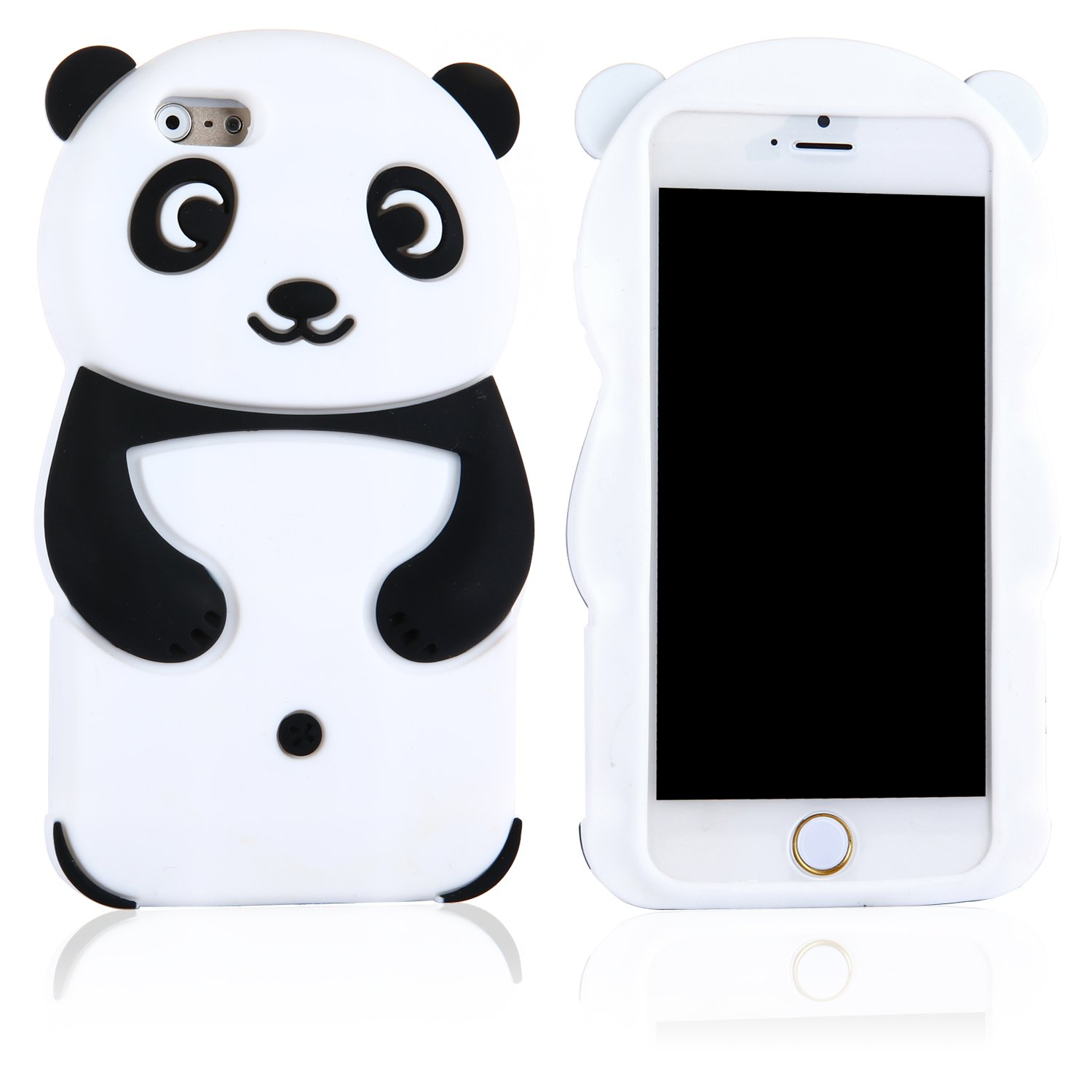 coque silicone panda iphone 6