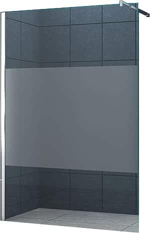10 mm Mampara de ducha Düsseldorf-Cover 140 x 200 cm / Walk-In Cabina de ducha Ducha Vidrio de seguridad: Amazon.es: Bricolaje y herramientas