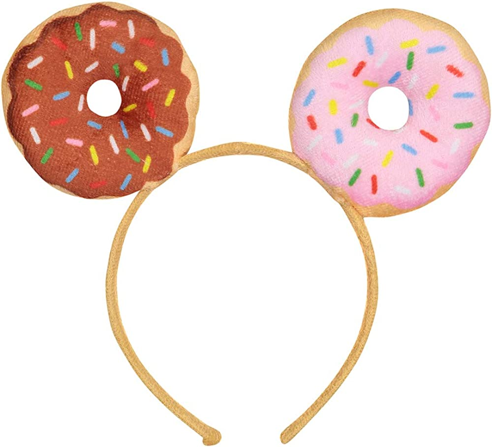 Dress-Up-America Donut Headband - The Perfect Donut Party Supplies Or Doughnut Costume Accessories