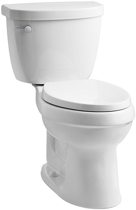 Charmant KOHLER K 3609 0 Cimarron Comfort Height Elongated 1.28 Gpf Toilet With  AquaPiston Technology