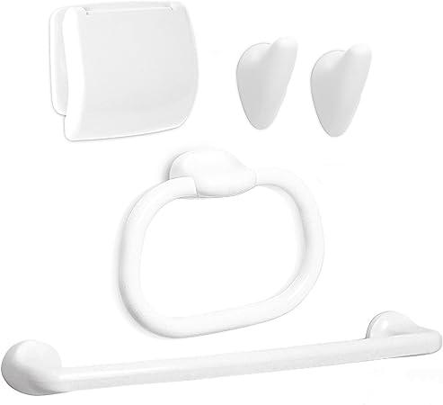 Tatay Olympia Estuche 5 Piezas, Blanco, 28.50x10.50x28.50 cm: Amazon.es: Hogar