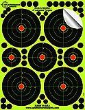 25-Pack-4-inch-Splatterburst-Stick-Splatter-Adhesive-Shooting-Targets-Gun-Rifle-Pistol-AirSoft-BB-Gun-Pellet-Gun-Air-Rifle