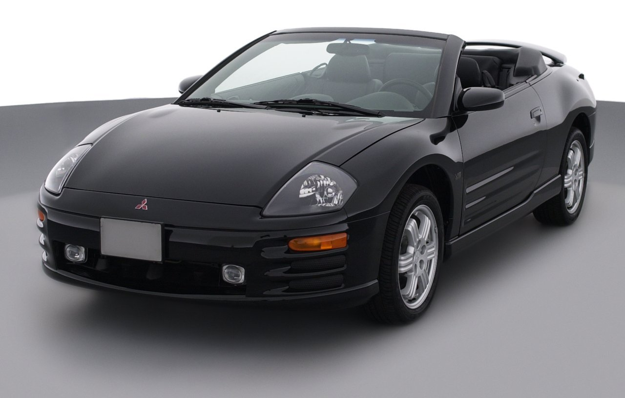 2001 mitsubishi eclipse gs 2 door convertible spyder sportronic