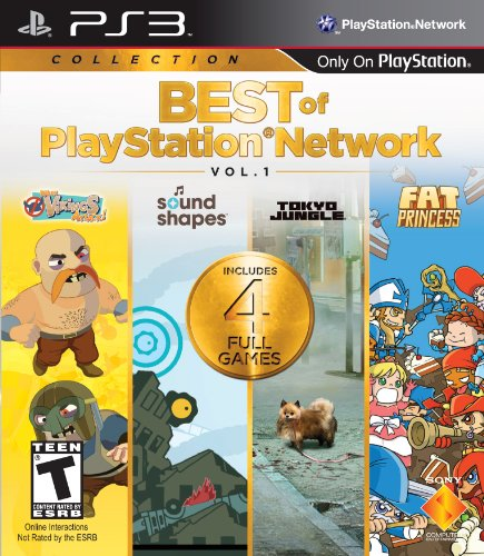 PS3 Best of PSN Volume 1 (Best Ps4 Network Games)