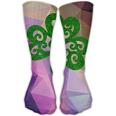 Design St Patrick's Day Parade Novelty Art Boots Sock For Women &Girl