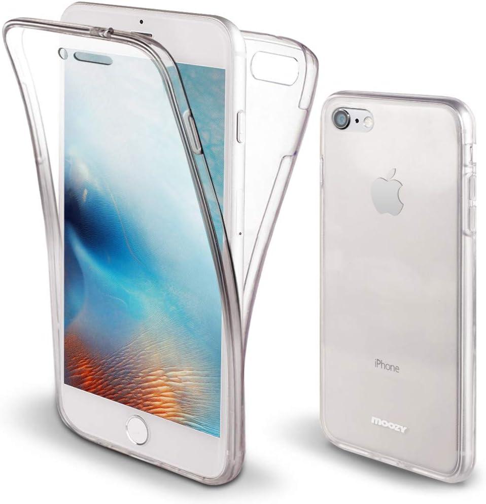 Moozy Funda 360 Grados para iPhone 6S, iPhone 6 Transparente Silicona: Amazon.es: Electrónica