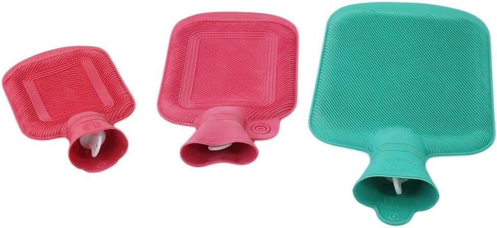 siehe abbildung lindert Kr/ämpfe Menstruationstasse yinew zuf/ällige Farbe W/ärmflasche Premium Classic Gummi HOT Wasser Tasche f/ür Heizung 500 ml Gummi lindert M/üdigkeit