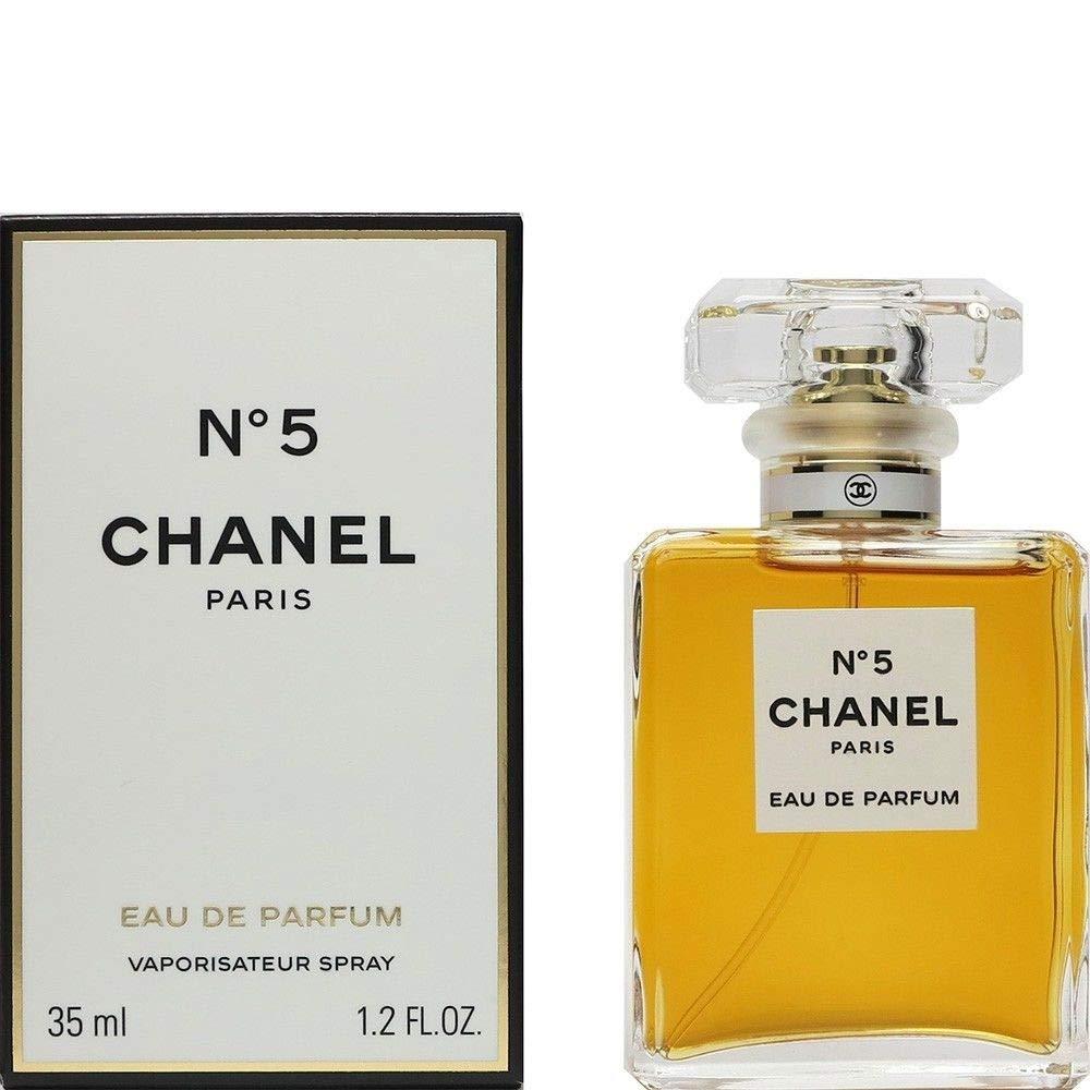 Chanel no. 5 eau de parfum spray 35 ml.