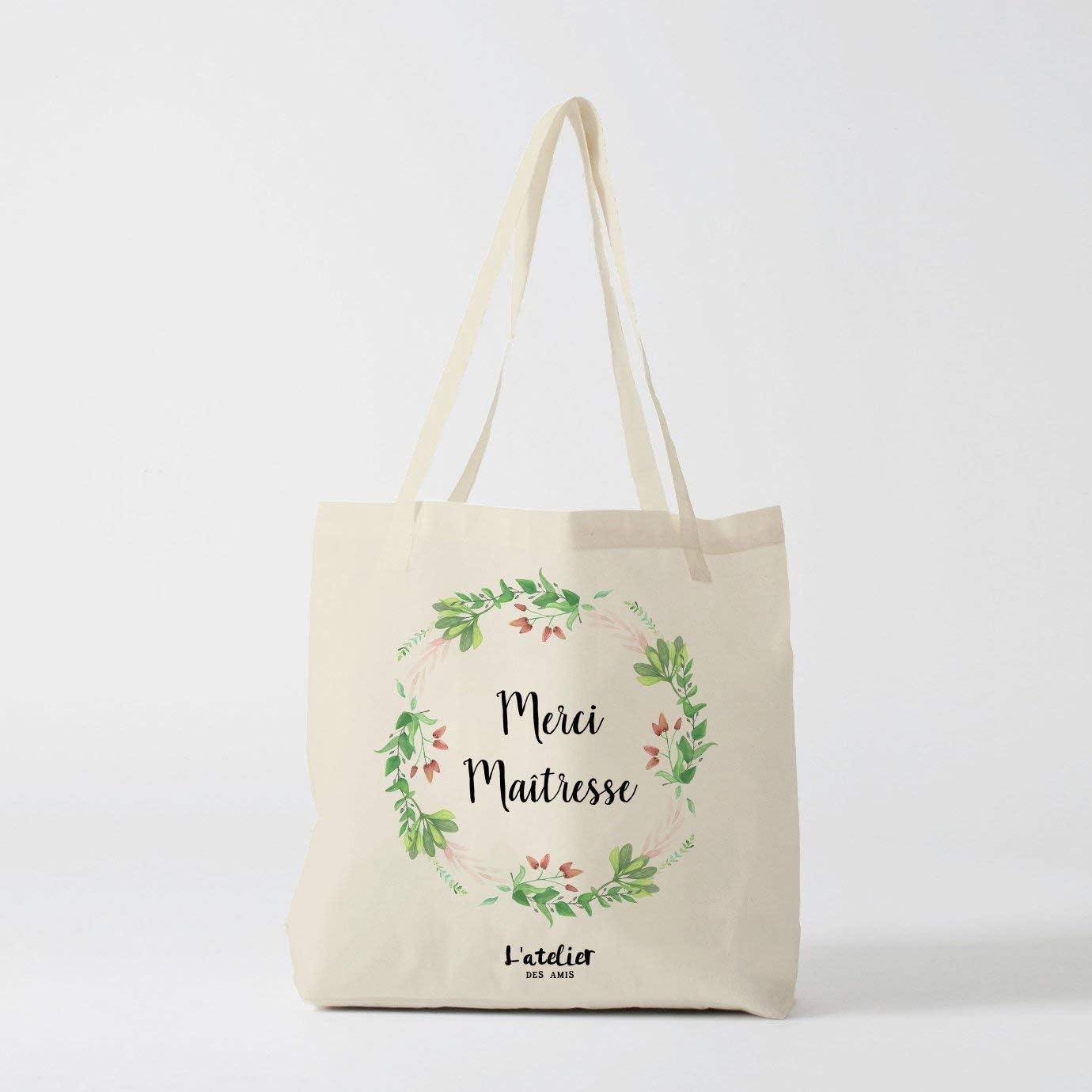 Master Tote Bag - Bolso de lona personalizado para profesor en ...