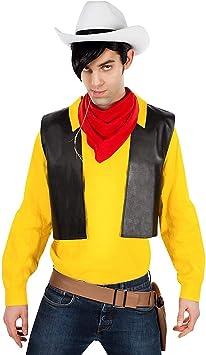 Maskworld Disfraz de Lucky Luke para Adultos (de 4 Piezas ...