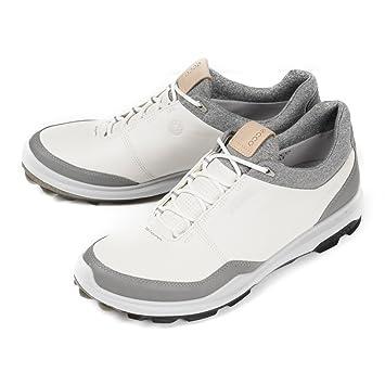 a5fcc61af2bef7 Ecco Golf BioM hybrid 3 Gore-Tex Stollenlose Herren Golfschuhe  (weiß schwarz)
