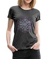 Blume des Lebens Metatronwürfel Frauen Premium T-Shirt von Spreadshirt®