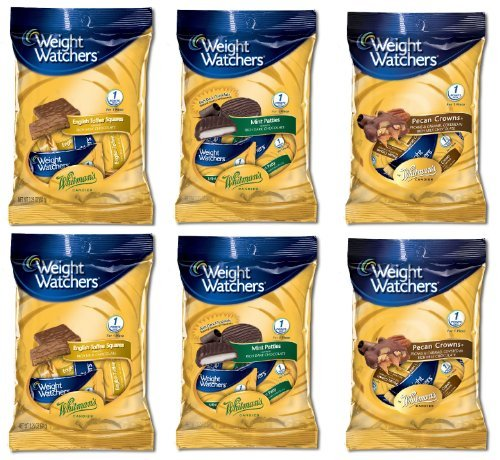 weight-watchers-6-pack-combo-2-english-toffee-squares-2-mint-patties-2-pecan-crowns