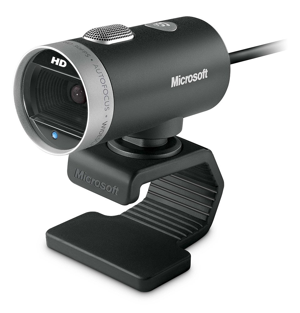Microsoft LifeCam Cinema 720p HD Webcam - Black MICT9 H5D-00013 Microsoft Corporation Video Game Accessories