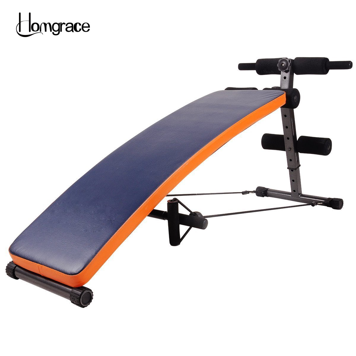 Homgrace Sit Up Ab Bench Incline Decline Adjustable Workout Sit Up Bench With Replaceable Leather Cover Slant Crunch Board Abs Benches Buy Online In Aruba At Aruba Desertcart Com Productid 52968246