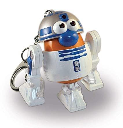 R2D2 Star Wars Mr. Potato Head Key Chain