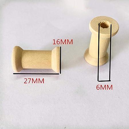 50er pack Vintage Garnspule Holzspule Dekospule Spule Nähmaschinenspule