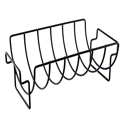 amazon gosear grill rack non stick bbq rib rack original rib Bar B Que Ribs gosear grill rack non stick bbq rib rack original rib roast holder grill rack
